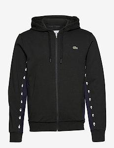 Men s sweatshirt - basic sweatshirts - black/navy blue