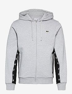 Men s sweatshirt - basic sweatshirts - silver chine/black