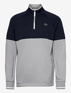 Men s sweatshirt - sportsjakker - silver chine/navy blue-white-navy blue