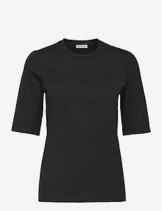Women s tee-shirt - short-sleeved t-shirts - black