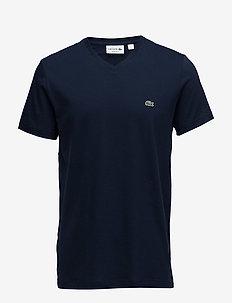 TEE-SHIRT&TURTLE NECK - korte mouwen - navy blue