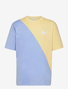 TH9183-00_3GW - basic t-shirts - zabaglione/nattier blue 07e