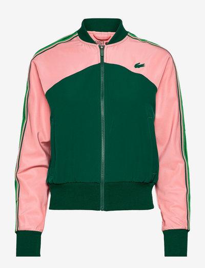 Womens jacket - jakker - elf pink/swing-malachite
