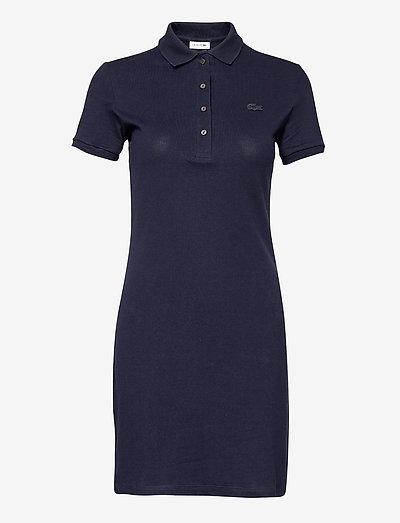 Women s dress - sommerkjoler - navy blue