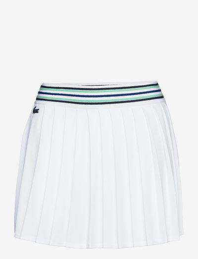 Women skirt - korte nederdele - white/cosmic-spirulina-navy blue