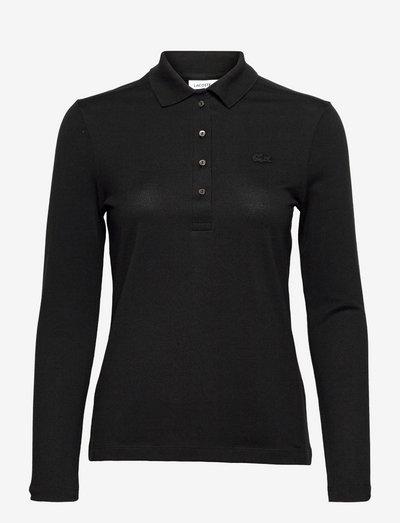 Womens S/S best polo - poloskjorter - black
