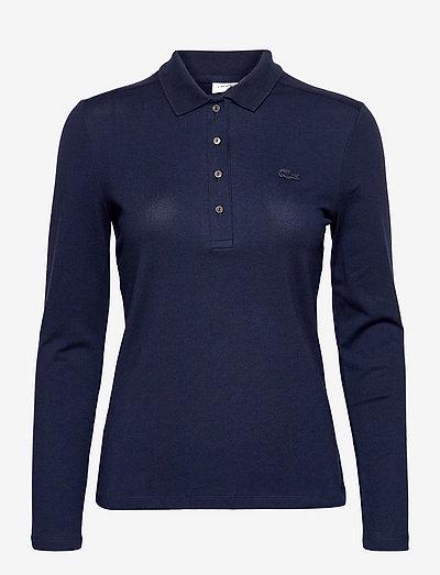 Womens S/S best polo - poloskjorter - navy blue