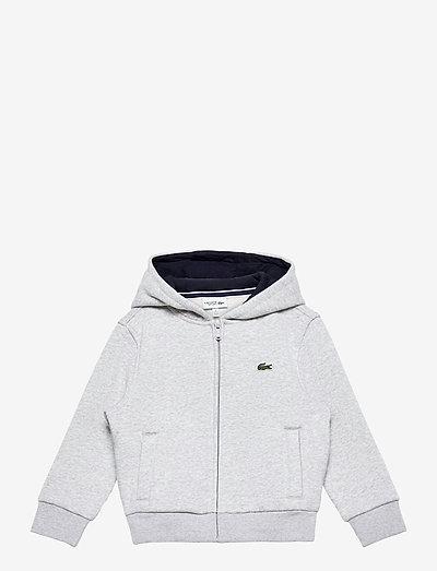 Children sweatshirt - hoodies - silver chine/navy blue