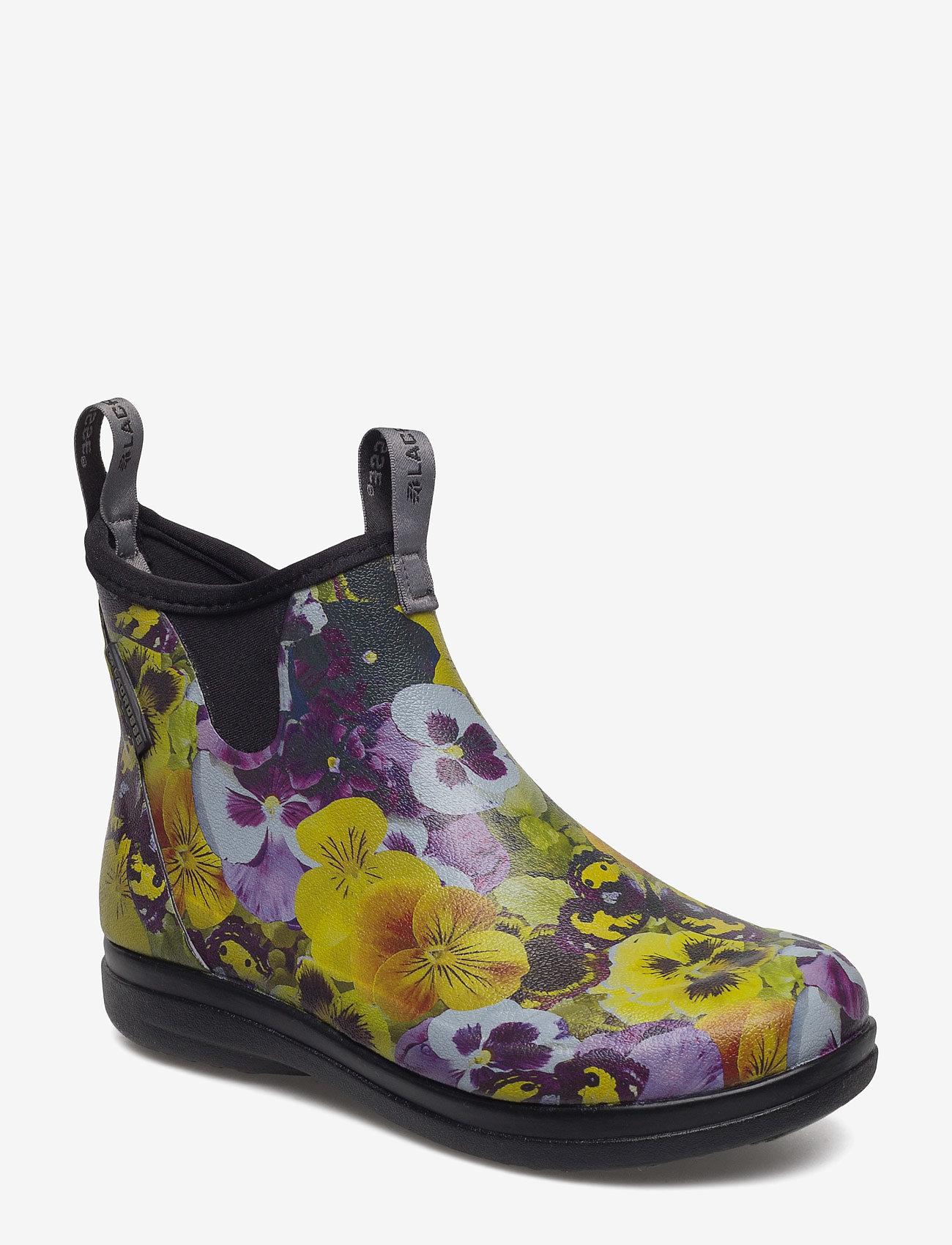 "LaCrosse - Hampton II Women's 6"" - bottes de pluie - pansy flower print yellow - 0"