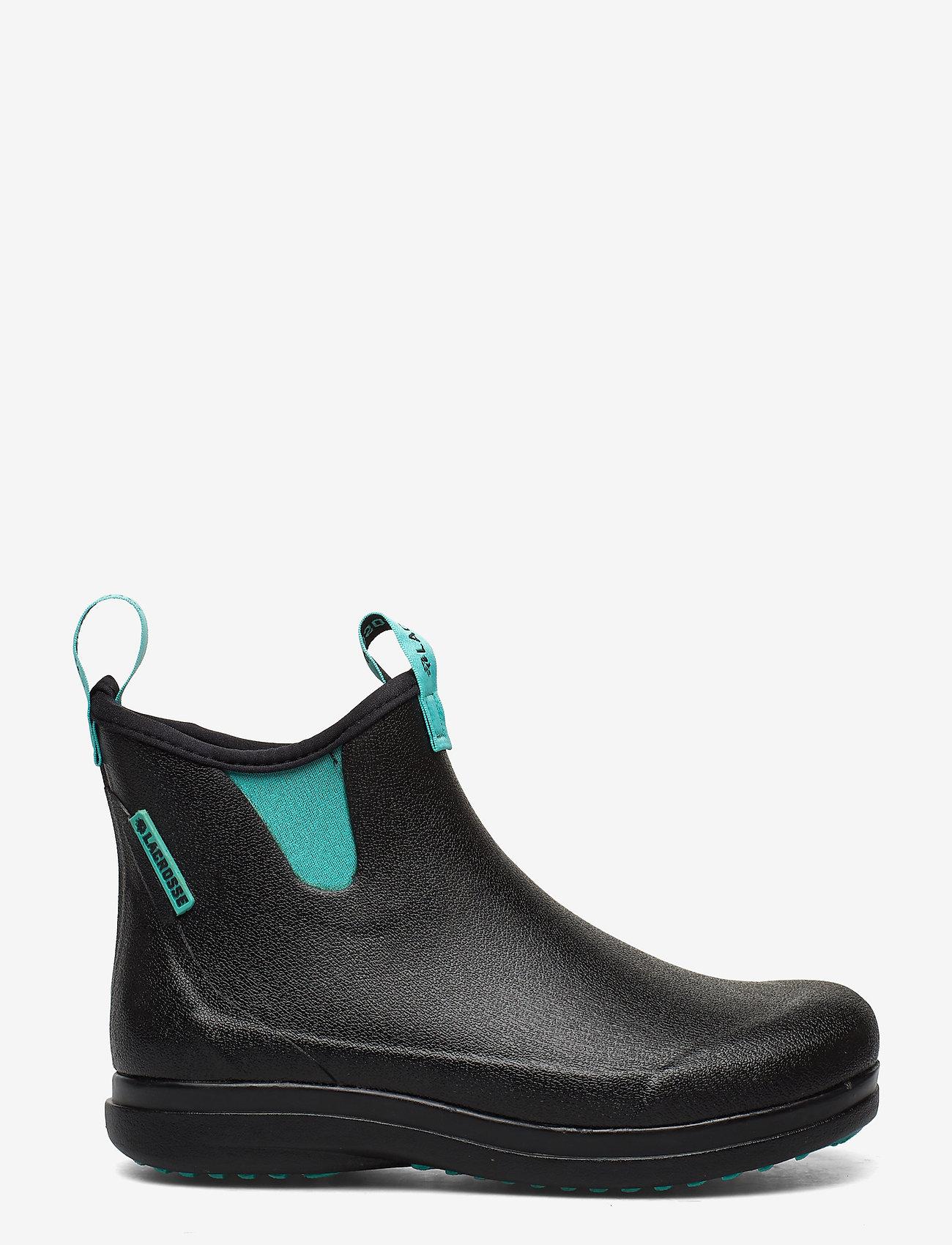 "LaCrosse - Hampton II Women's 6"" - bottes de pluie - black/turquoise - 1"