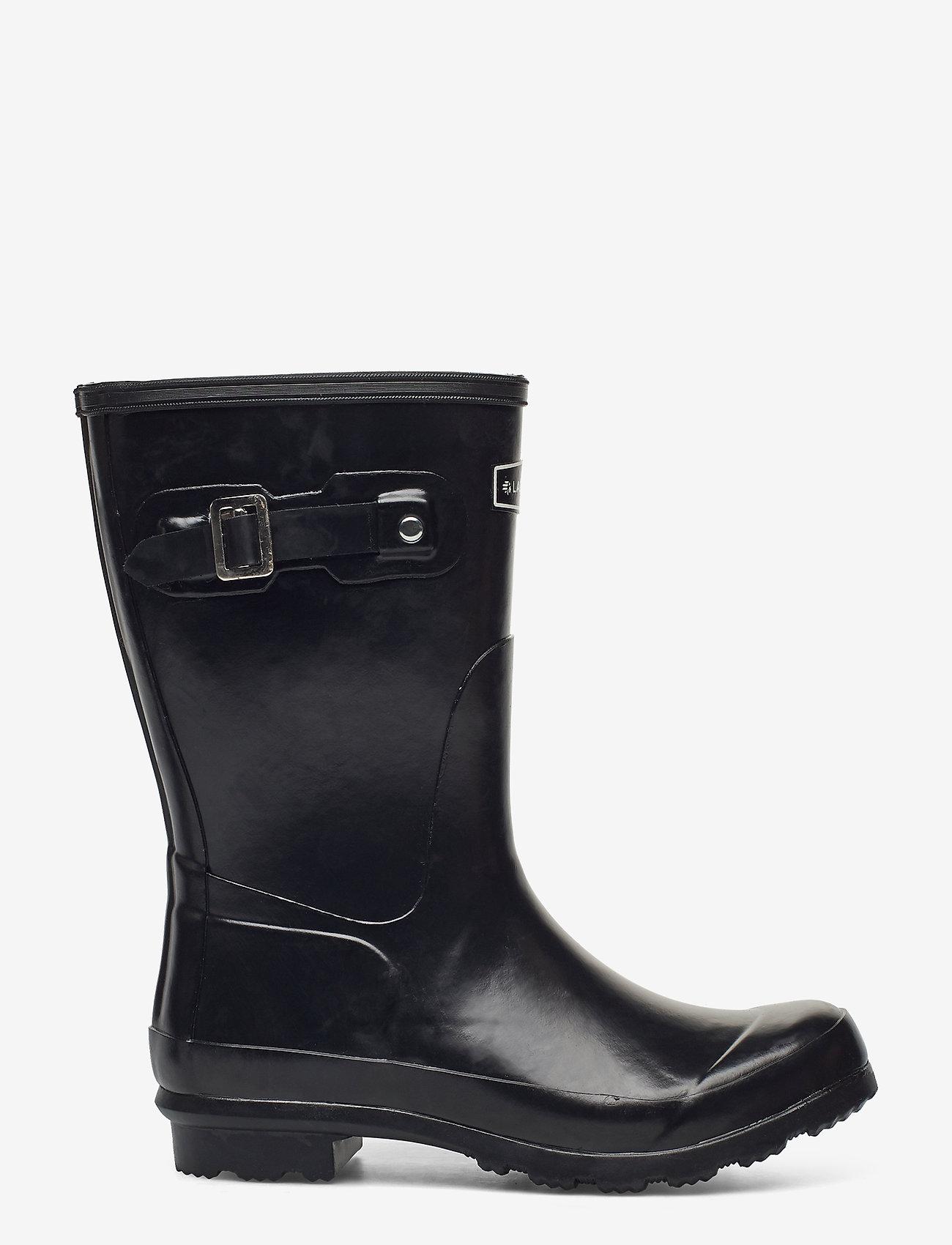"""LaCrosse - Welly 10"""" - regenlaarzen - black matte - 1"""