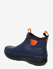 "LaCrosse - Hampton Men's 6"" - gummistiefel - navy/popsicle orange - 2"