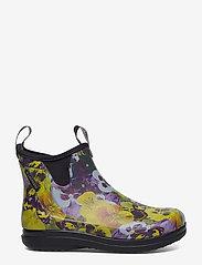 "LaCrosse - Hampton II Women's 6"" - bottes de pluie - pansy flower print yellow - 1"