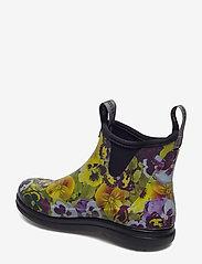 "LaCrosse - Hampton II Women's 6"" - bottes de pluie - pansy flower print yellow - 2"