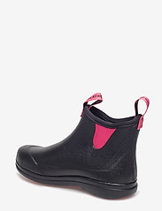 "LaCrosse - Hampton II Women's 6"" - rain boots - black/camellia rose - 2"