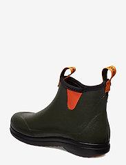 """LaCrosse - Hampton II Women's 6"""" - rain boots - rosin-green/popsicle orange - 2"""