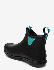 "LaCrosse - Hampton II Women's 6"" - bottes de pluie - black/turquoise - 2"