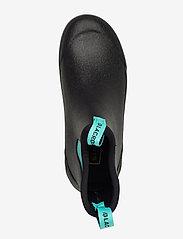 """LaCrosse - Hampton II Women's 6"""" - regenlaarzen - black/turquoise - 3"""