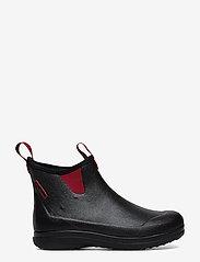 """LaCrosse - Hampton II Women's 6"""" - bottes de pluie - black/maroon - 1"""