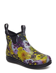 "Hampton II Women's 6"" - PANSY FLOWER PRINT YELLOW"