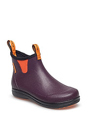 "Hampton II Women's 6"" - EGGPLANT/POPSICLE ORANGE"