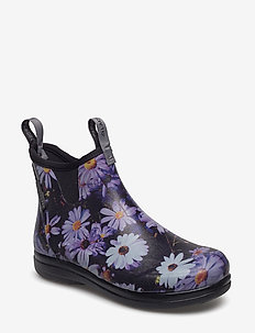 "Hampton II Women's 6"" - PANSY FLOWER PRINT PURPLE"
