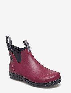 """Hampton II Women's 6"""" - gummistøvler - maroon"""