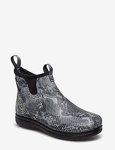 "Hampton II Women's 6"" - rain boots - snake print"
