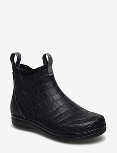 "Hampton II Women's 6"" - rain boots - croco embossed"