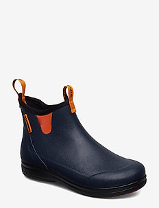 "Hampton II Women's 6"" - bottes de pluie - navy/popsicle orange"