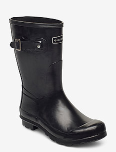 "Welly 10"" - rain boots - black matte"