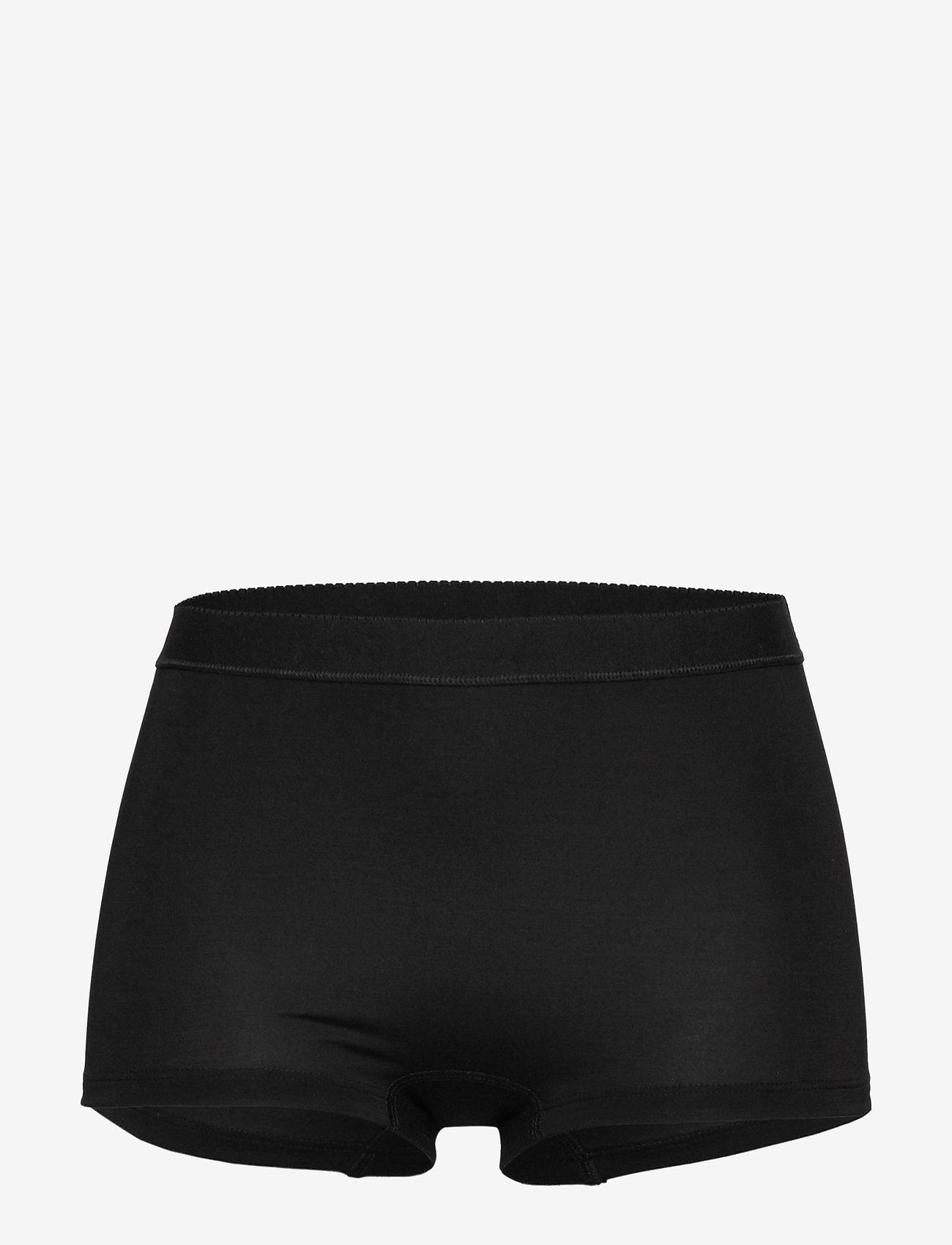 Lady Avenue - Short Bamboo Panty - broekjes - black - 1