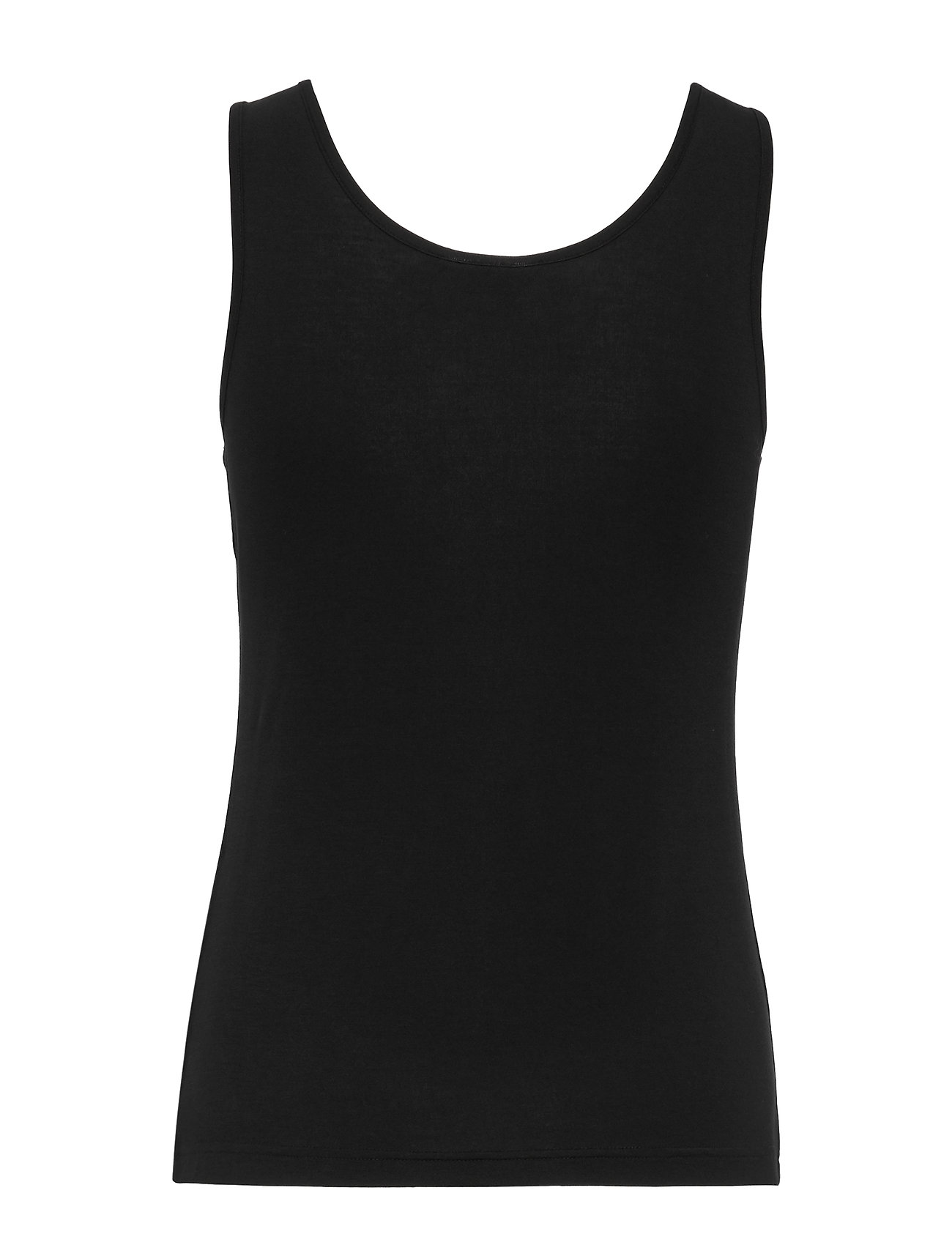 Lady Avenue Bamboo Tank Top With Lace - T-shirts & Toppar