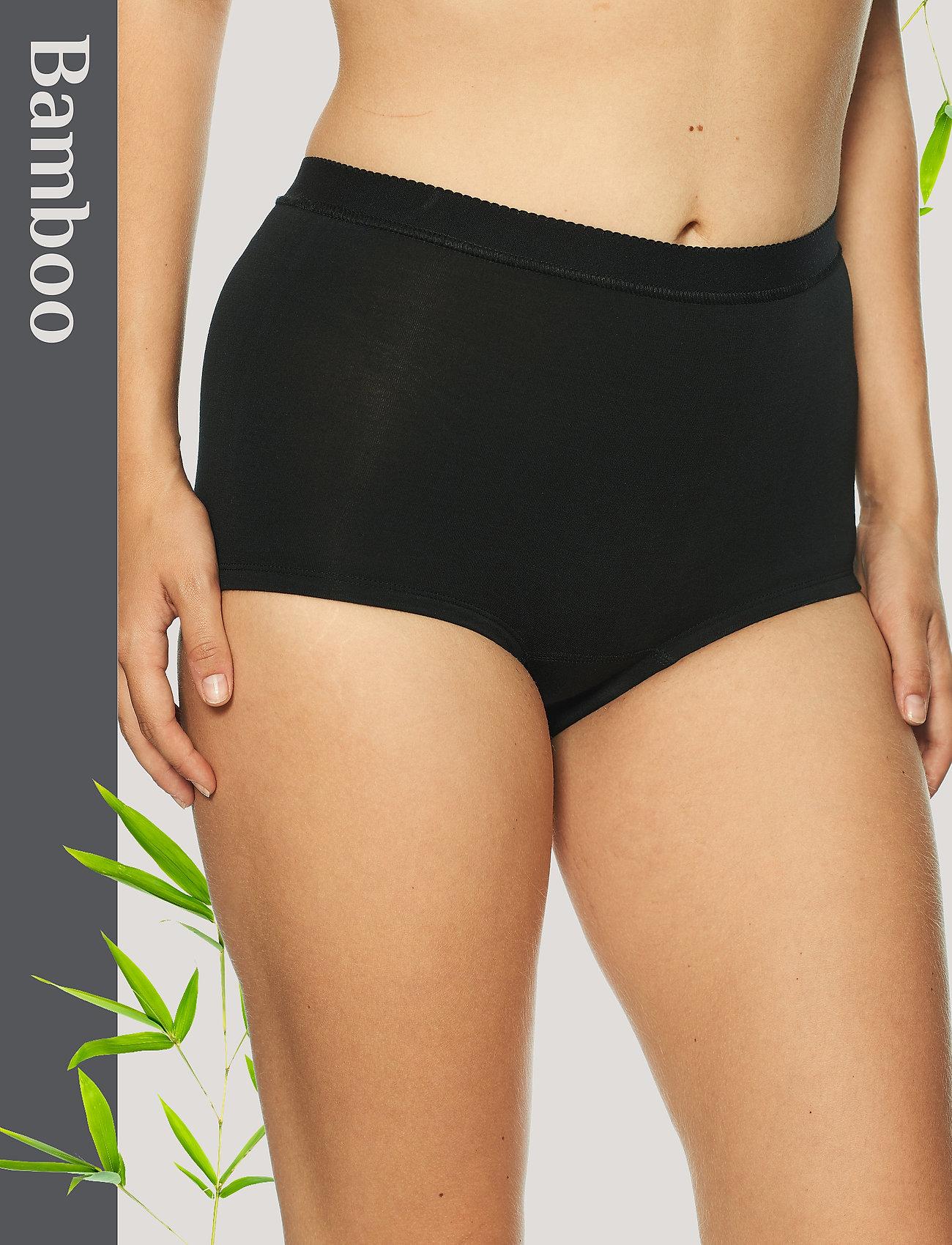 Lady Avenue - Short Bamboo Panty - broekjes - black - 0