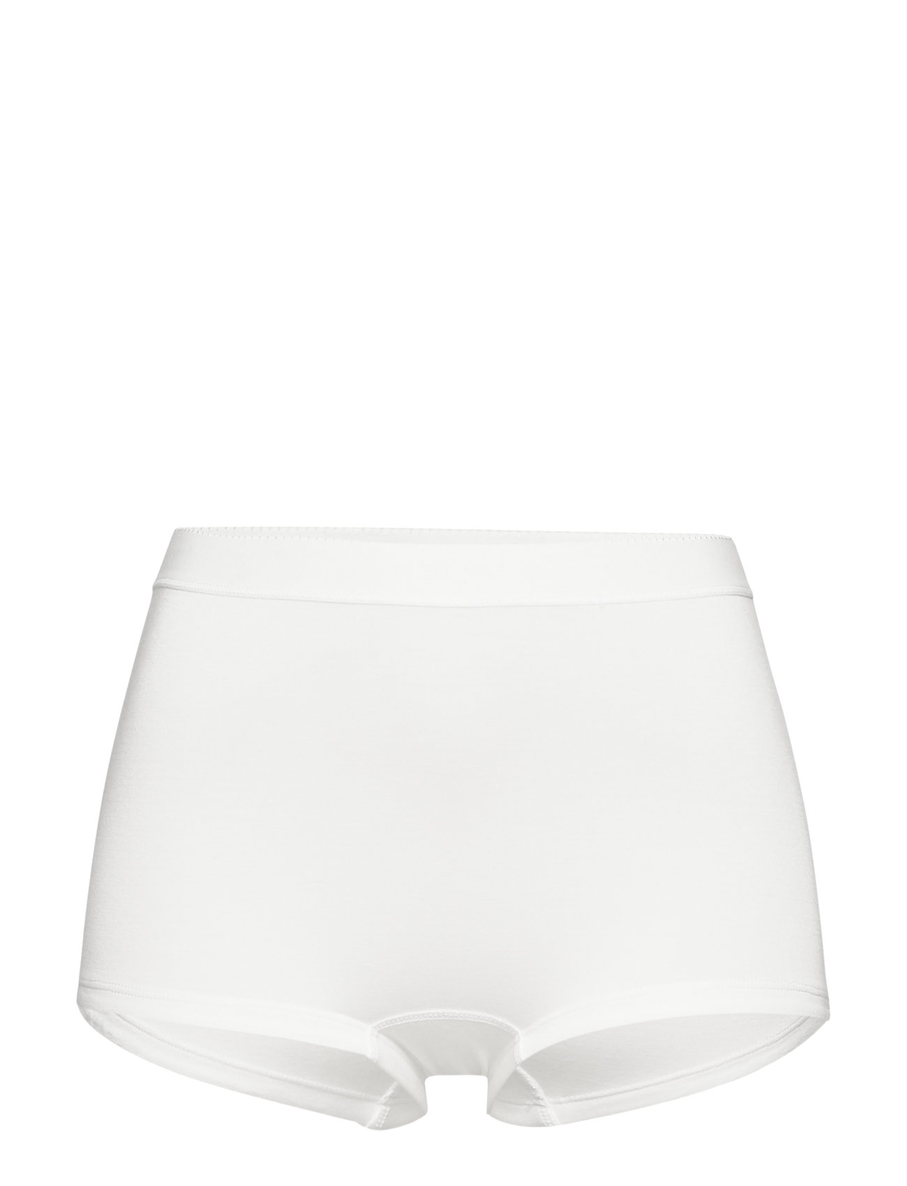 Lady Avenue Short Bamboo Panty - OFF-WHITE