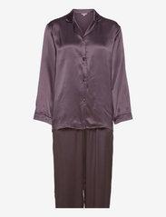 Pure Silk - Basic Pyjamas - GRAPHITE