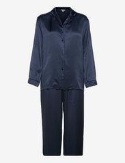 Pure Silk - Basic Pyjamas - INDIGO