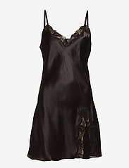 Lady Avenue - Slip with lace - nachtjurken - black - 1