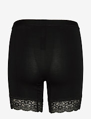 Lady Avenue - Short leggings with lace - bottoms - black - 5