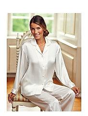 Lady Avenue - Pure Silk - Basic Pyjamas - pyjamat - off-white - 0