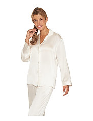 Lady Avenue - Pure Silk - Basic Pyjamas - pyjama''s - off-white - 5