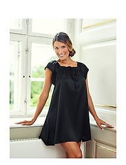 Lady Avenue - Baby Doll - nightdresses - black - 0