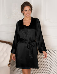 Lady Avenue - Kimono - bathrobes - black - 3