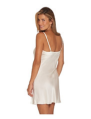 Lady Avenue - Slip with lace - nattlinnen - off-white - 4