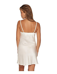 Lady Avenue - Slip with lace - nattlinnen - off-white - 9