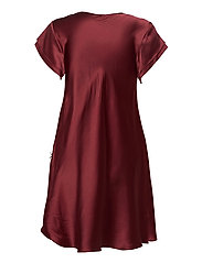 Pure Silk - Nightgown w.lace, short