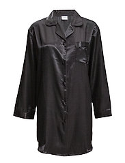 Satin Long Sleeve Nightshirt