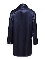 Satin Long Sleeve Nightshirt