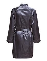 Satin Short kimono