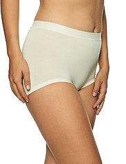 Lady Avenue - Short Bamboo Panty - broekjes - off-white - 3